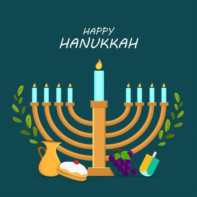 hanukkah profile picture frame
