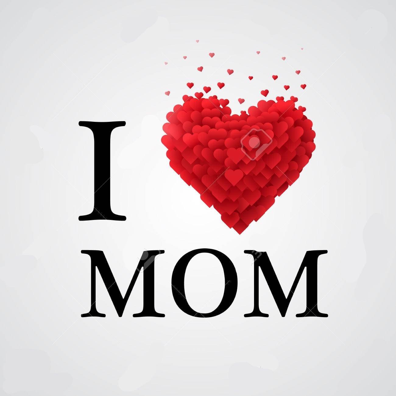 I Love You Mom Logo