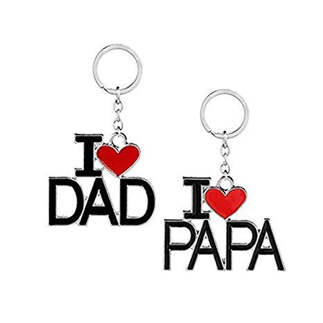 I Love Dad Profile Picture Frame