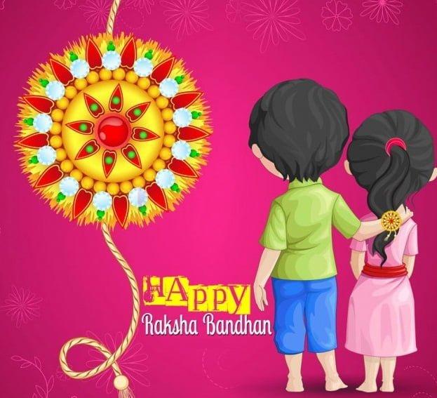 Happy Raksha Bandhan Profile Frame
