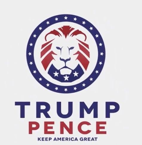 Trump Pence Logo Profile Picture Frame