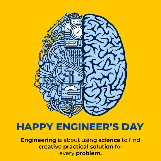 Engineers Day Profile Picture Frame