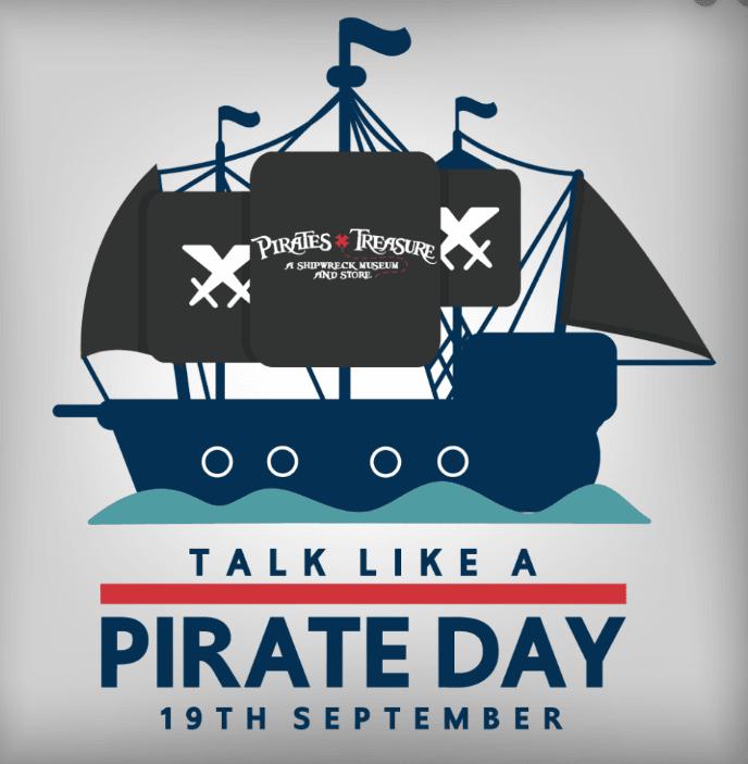 Pirate Day Profile Picture Frame