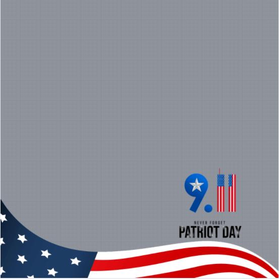 Patriot Day Frame