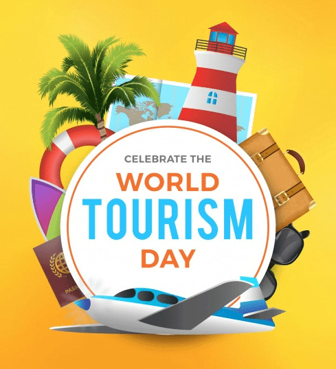 World Tourism Day Profile Picture Frame