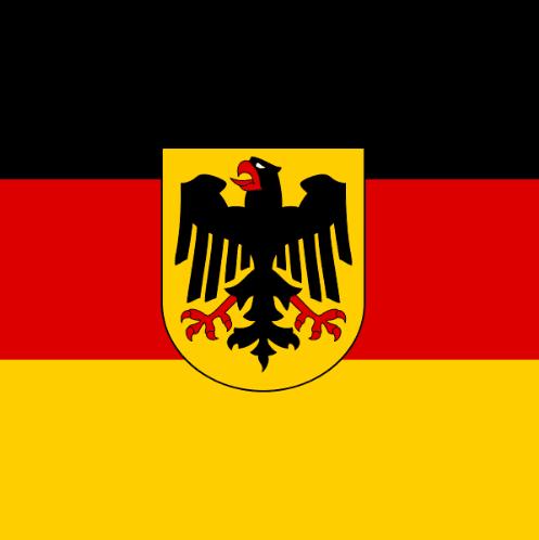 German Reunification Day Frame