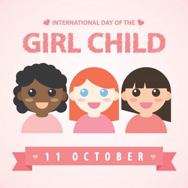 Girls Child Day Profile Frame