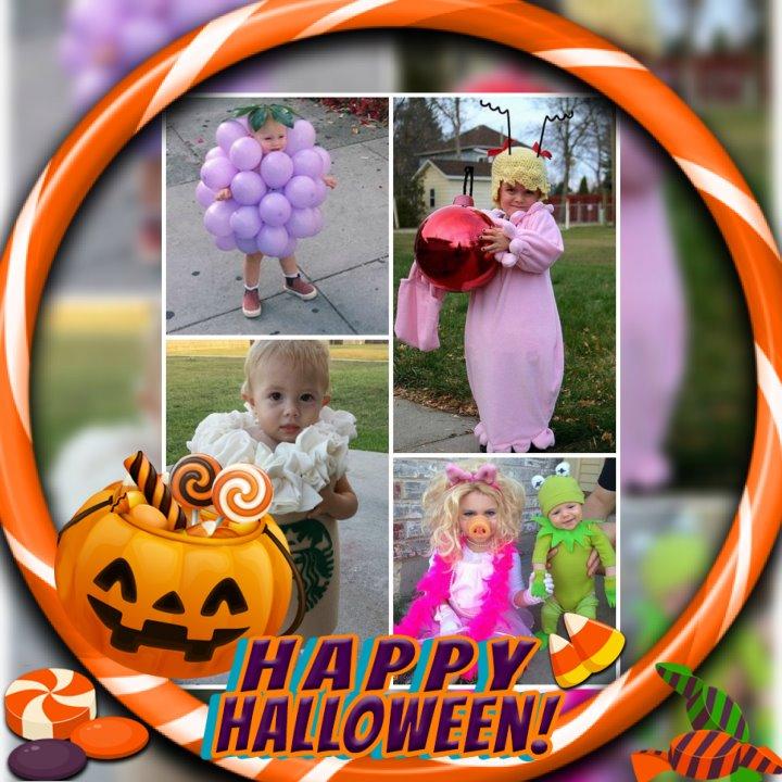 Happy Halloween Profile Frame