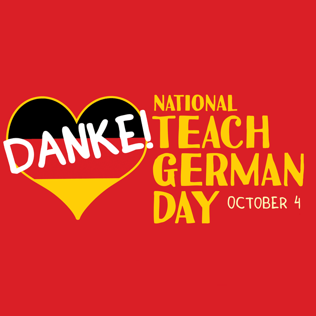 National Teach German Day Profile Picture Frame