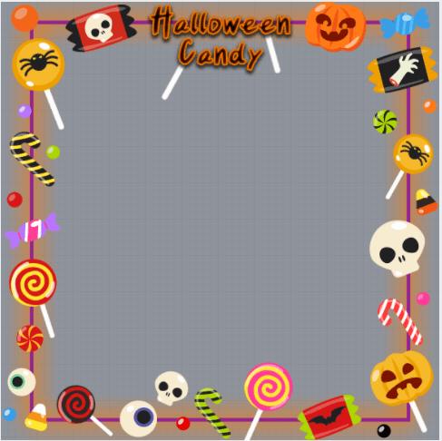 Halloween Day Frame