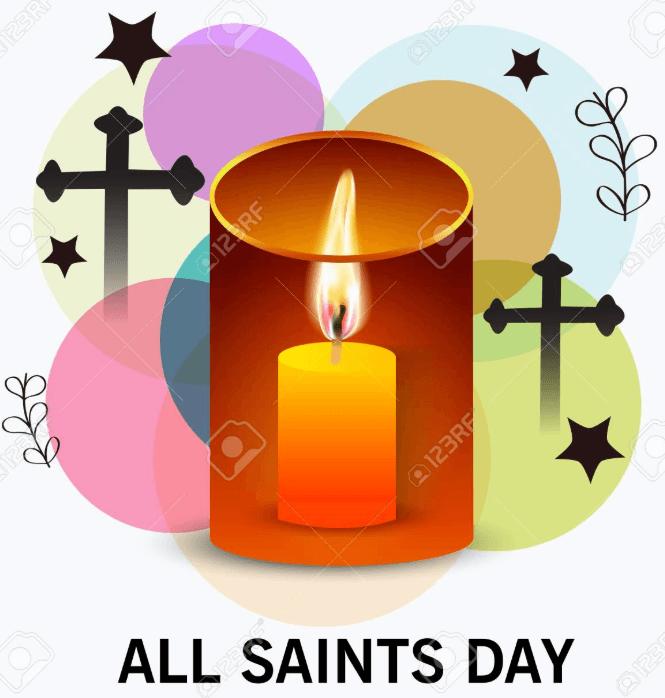 All Saints Day Frame
