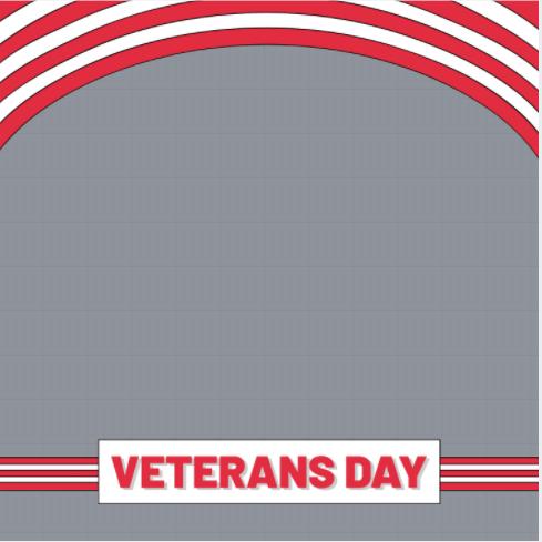 veterans day frame