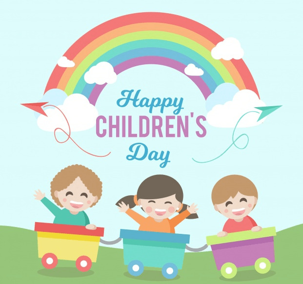Children's Day Profile Frame