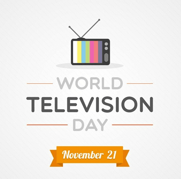 World Television Day Frame