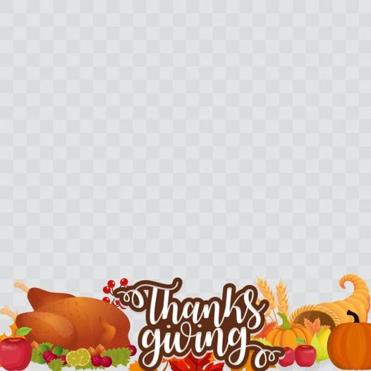 Thanksgiving Day Profile Frame By Toni Tails