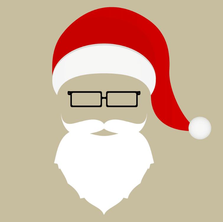 Santa Claus Costume Frame
