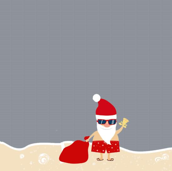 Summer Christmas Profile Frame
