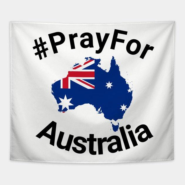 Pray for Australia Profile Frame