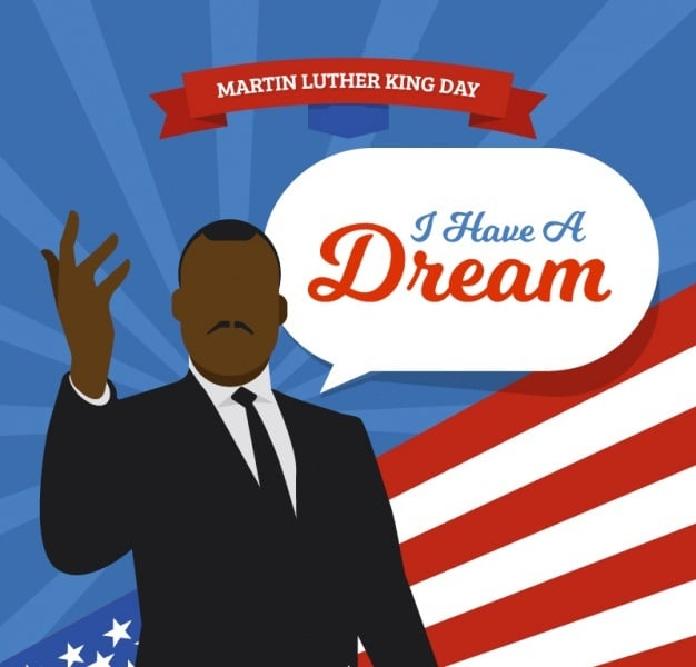 MLK Day Profile Frame