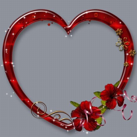 Heart Profile Frame