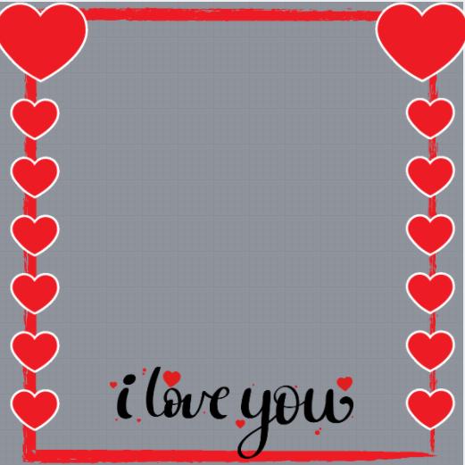 Love Profile Frame