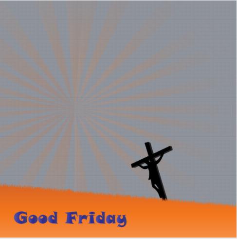 Good Friday Frame