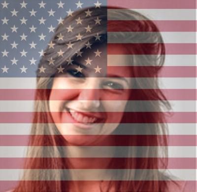 american flag overlay