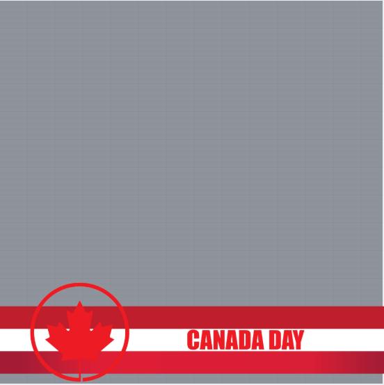 Canada Day Frame