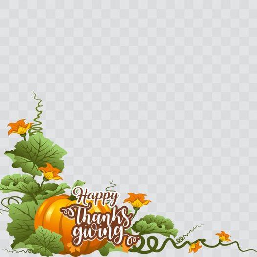 Toni Tails Thanksgiving Day Profile Frame