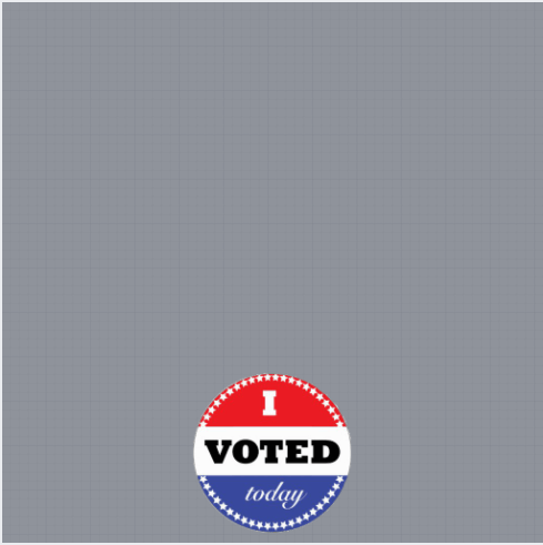 I Voted Facebook Frame