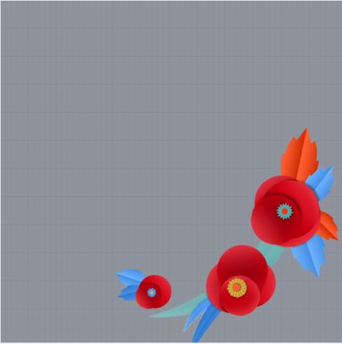Poppy Day Frame