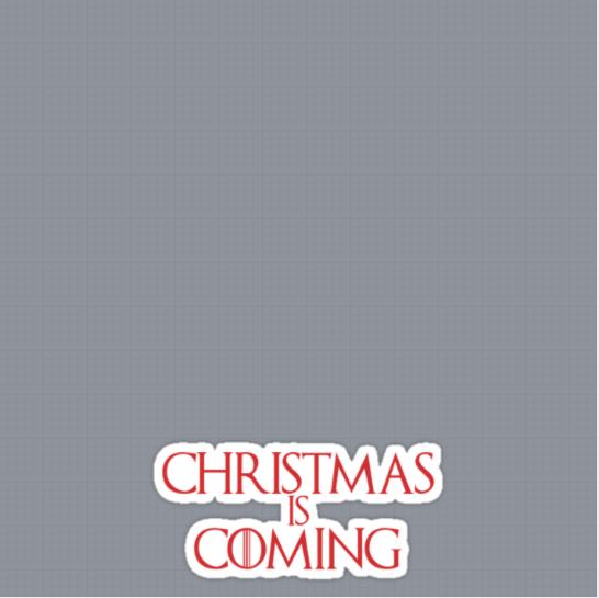 Christmas Coming Frame
