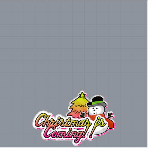Christmas Is Coming Frame