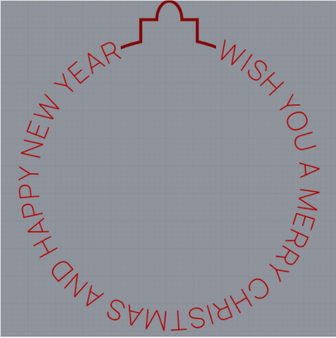 Merry Christmas And Happy New Year Profile Frame