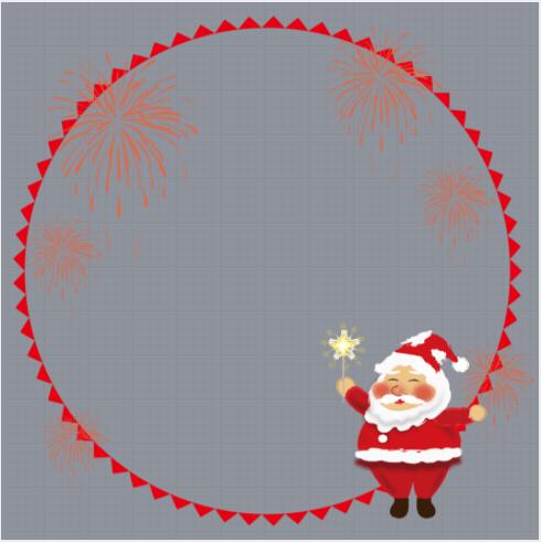 Christmas Day Profile Frame