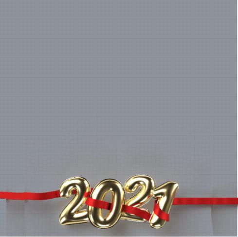 New Year 2021 Frame