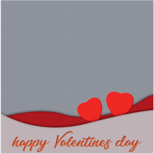 Happy Valentine Day Frame