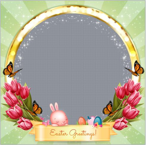 Easter Greetings Frame