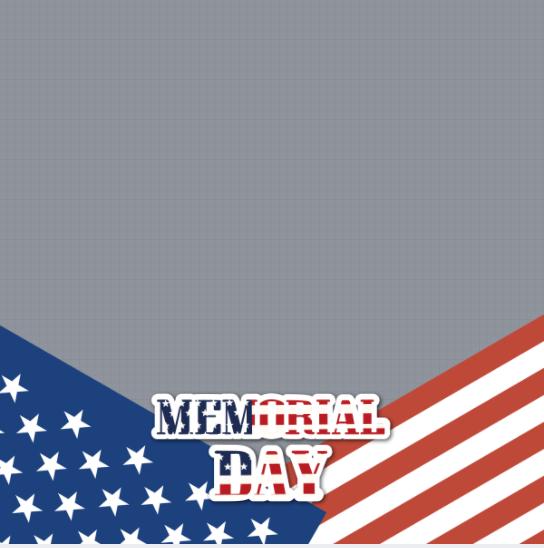 Memorial Day Profile Frame